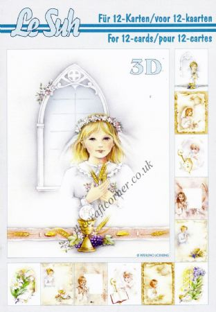 Communion A5 3D Decoupage Book from Le Suh